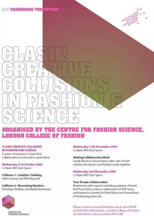Clash! Creative Collisions in Fashion & Science