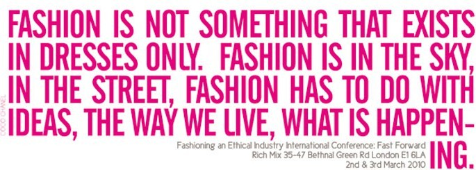 Fashioning an Ethical Industry Conference_Fast Forward
