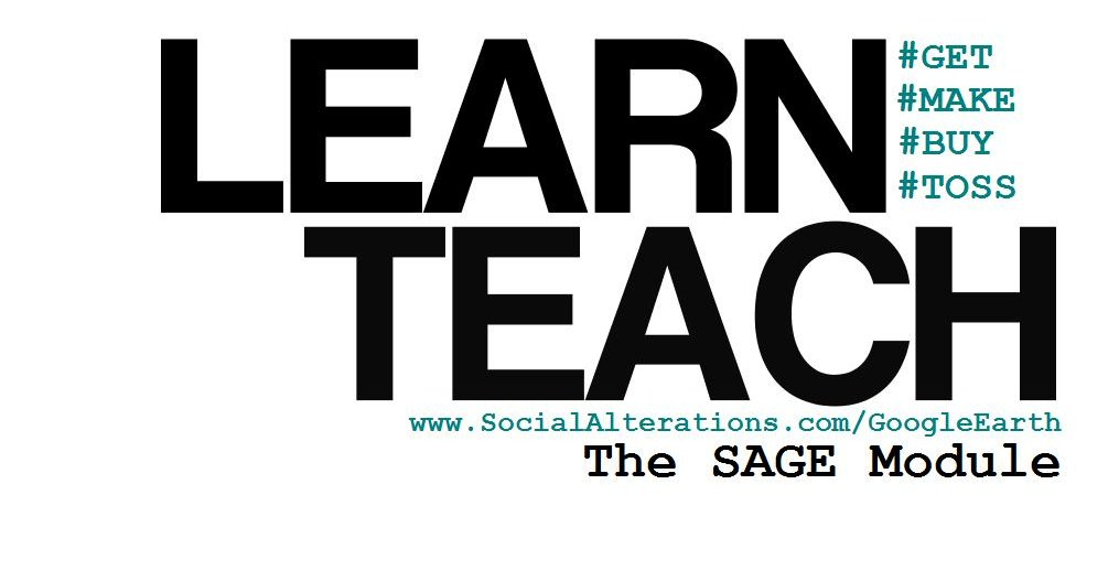 SAGE: The Social Alterations Google Earth Module