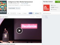 Indigenous New Media Symposium